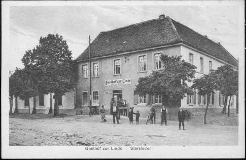 historische-Ansicht-Gasthof-zur-Linde-Starsiedel